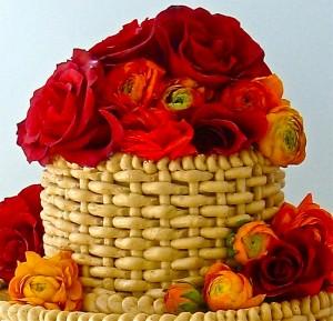 Cake Decorating Basket Weave Pattern