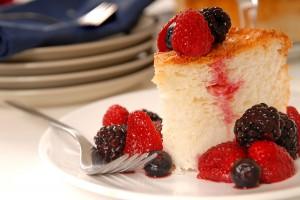 Angel food cake by Dede Wilson