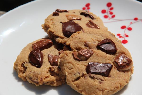 coffee toffee cookies