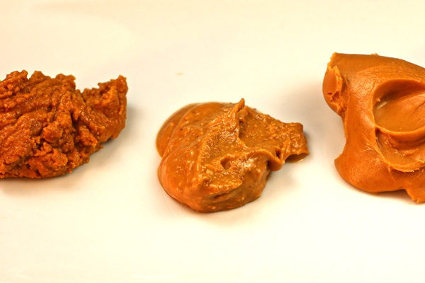 different types of peanut butter
