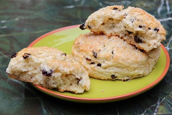 currant cream scones recipe