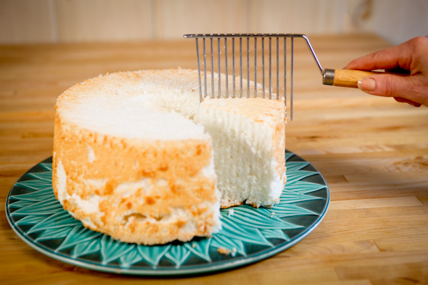 using an angel food cake cutter