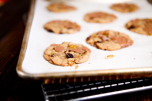 browned butter milk chocolate cookie