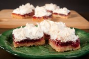 Cranberry Snowdrift Bars