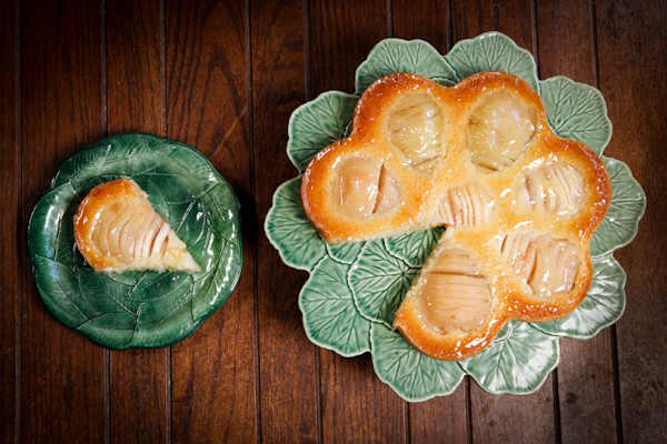 Pear-frangipane-tart