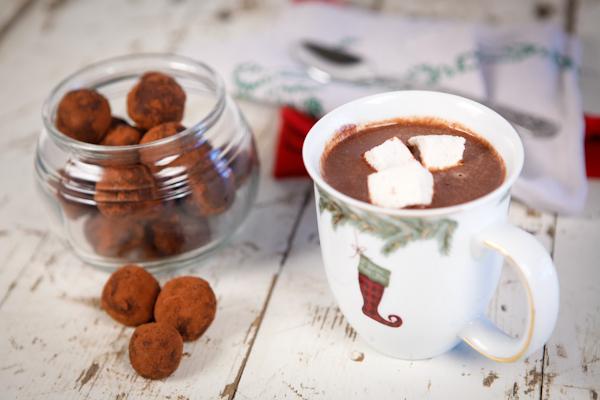 Hot Chocolate Truffle Bombs