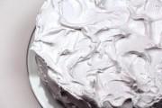 fluffy white frosting