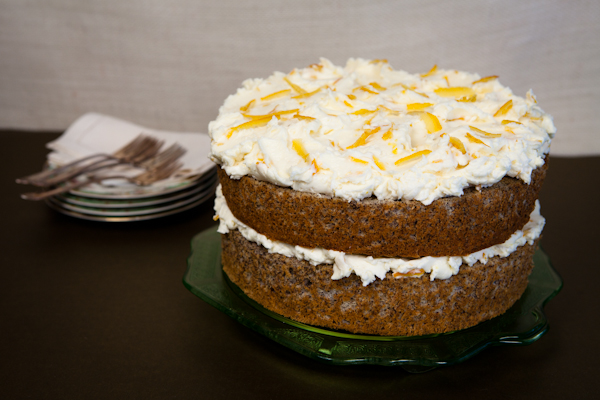 Vanilla-Buttercream Frosting And Poppies Recipe — Dishmaps