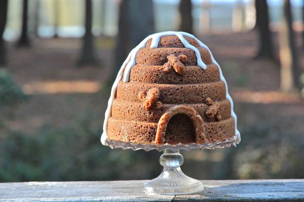 honey marmalade cake