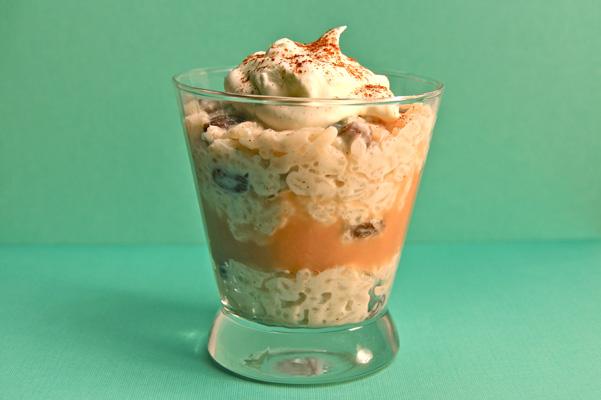 rice pudding parfait
