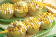Corn on the Cob-cupcakes