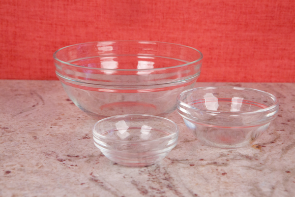 Luminarc stacking bowls