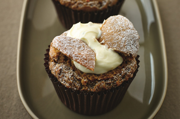 Skinny Caffe Latte Butterfly Cakes