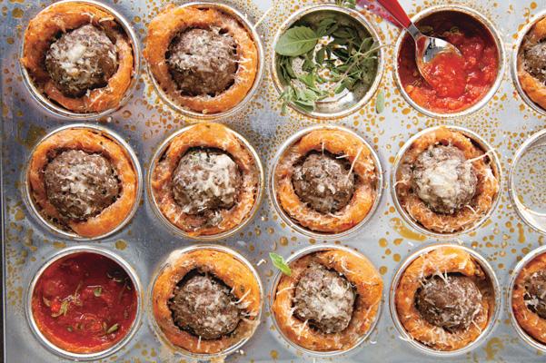Meatball Muffins