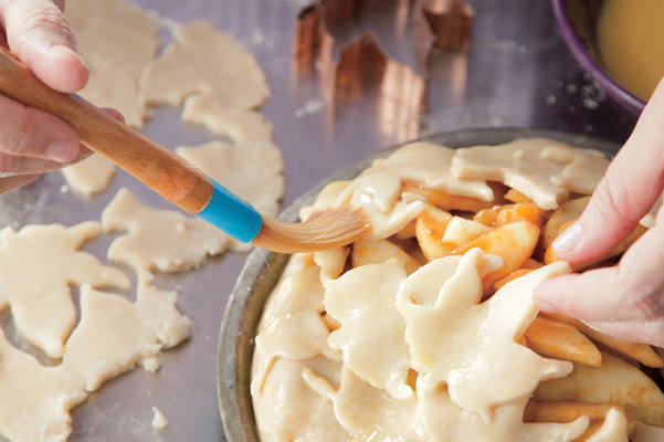 Pie Crust with Cutouts