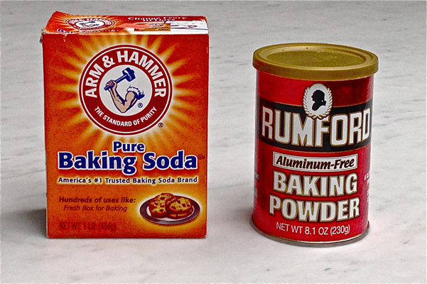 baking soda and baking powder research You might also add in milk, salt, baking powder or soda, and some type of  flavoring, but a large number of baking recipes call for at least those.