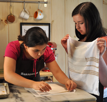 Craftsy working with filo dough