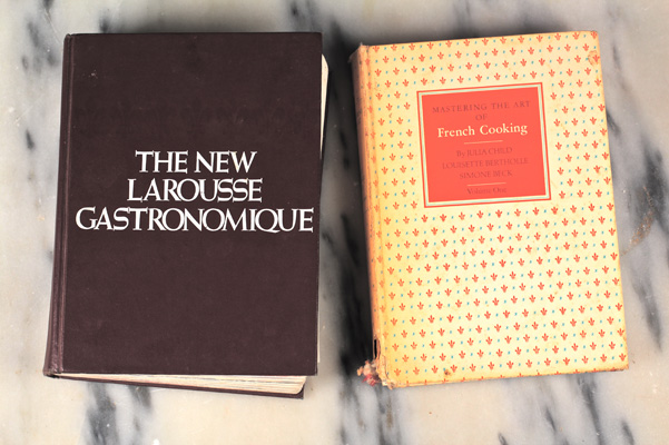 Larousse Gastronomique and Mastering the Art of French Cooking