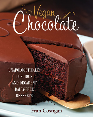 Vegan chocolate cover