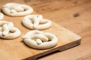Fresh pretzels home made