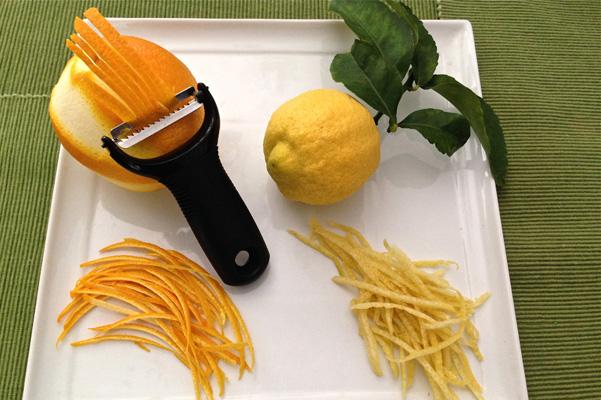 Julienne citrus