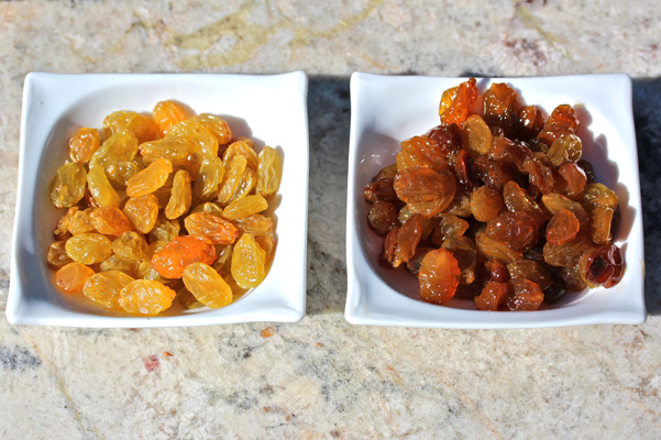 Sherry Yard's Fat Raisins