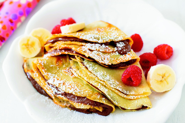 Vanilla Crepes With Nutella Recipe Nutella Bakepedia
