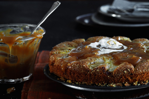 Flourless_Apple Tea Cake