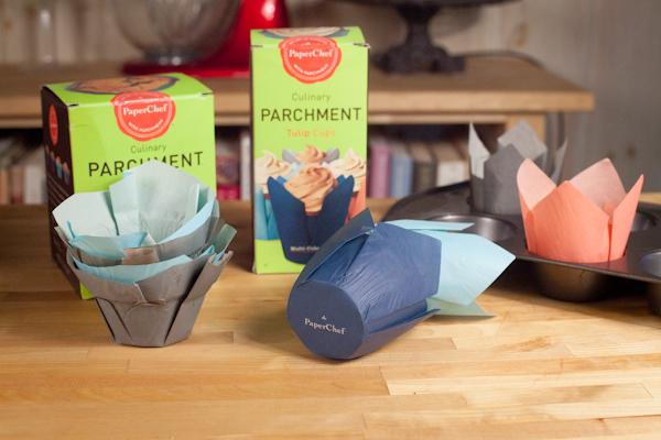 Paper chef parchment cups