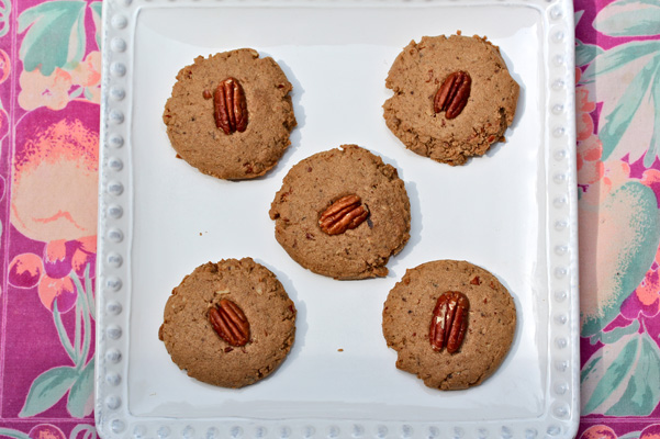 Pecan Shortbread cookies Now