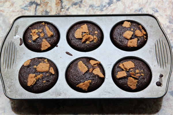 S'More Cupcakes in Pan