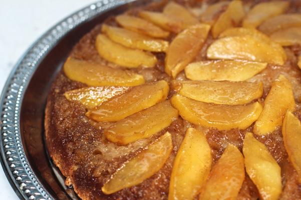 Vidalia Onion Apple Upside Down cake