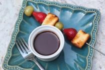 nutella fondue