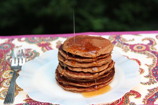pecan flour buttermilk pancakes 2