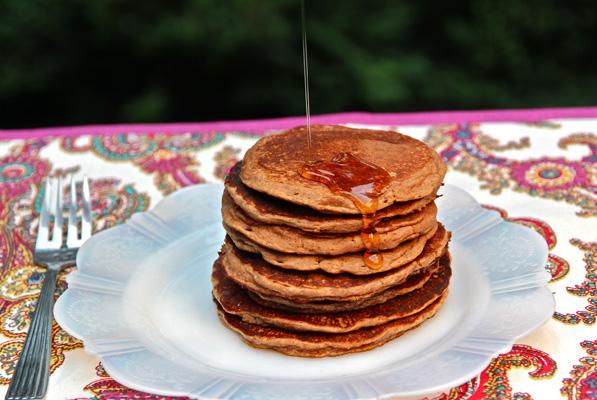 pecan flour buttermilk pancakes