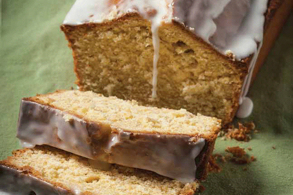 coconut lime cornmeal pound cake