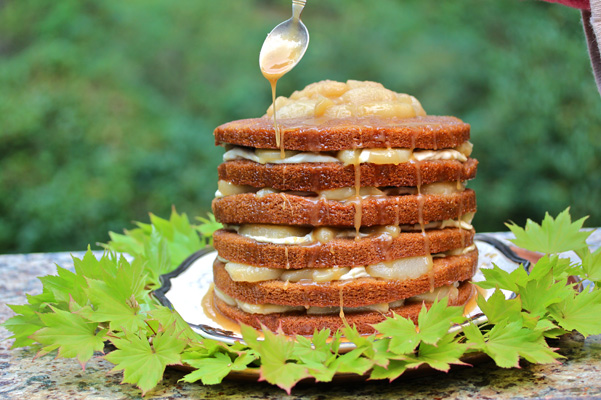 gingerbread stack cake 2
