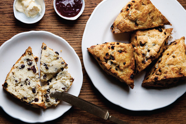 30_Currant Rosemary Scones