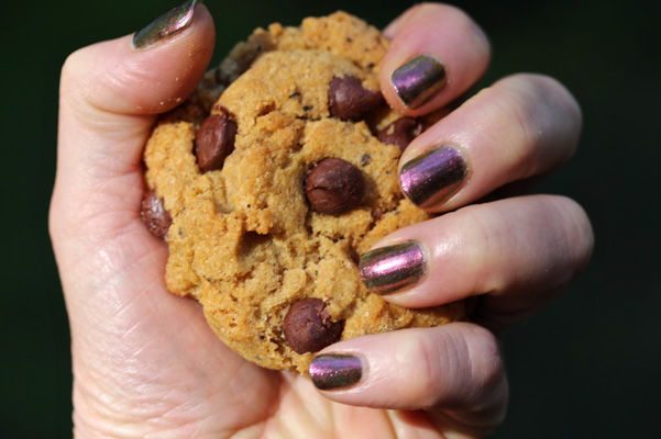 MAC Pumpkin Spice Latte Chocolate Chip Cookie