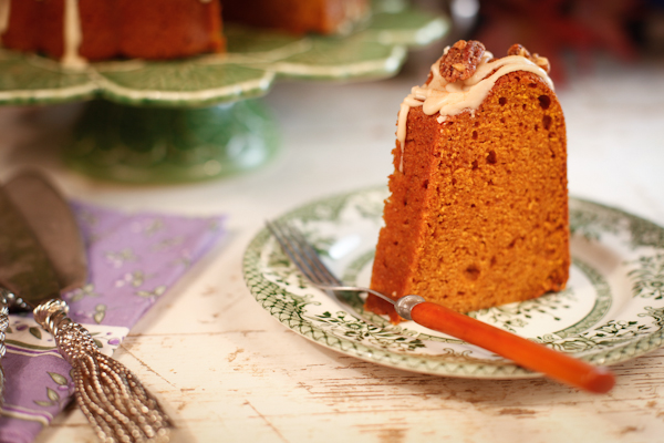 PSL Bundt Cake slice