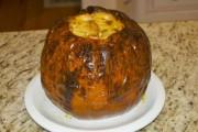 Baked Cheesy Pumpkin