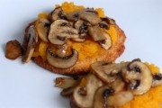 pumpkin mushroom rounds