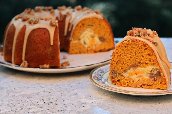 Recipe For Pumpkin Cream Cheese Bundt Cake