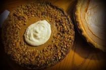 Pumpkin pie with nuts 1