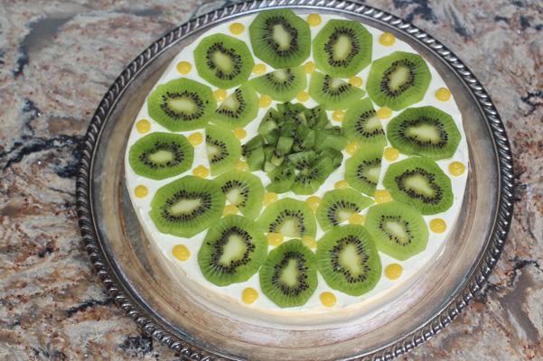 kiwi lime chiffon