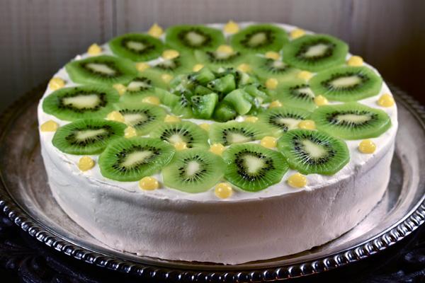 Kiwi Lime Chiffon Cake Recipe Bakepedia
