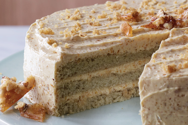 ... component in her Sorghum Layer Cake with Walnut Praline Buttercream