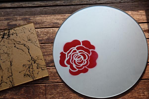 stencil platter