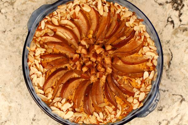 Baked Oatmeal overhead Bellingham
