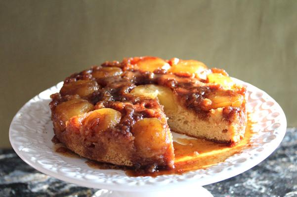 caramelupsidedowncake